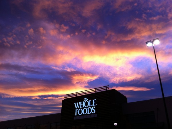 IMG 1271 600x448 Beautiful Sky from Whole Foods