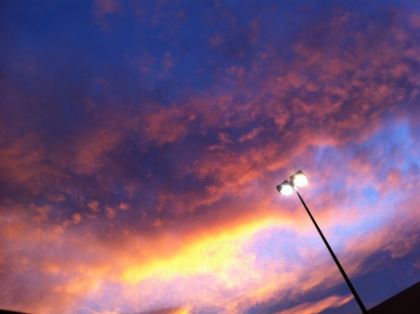 IMG 1274 600x448 Beautiful Sky from Whole Foods